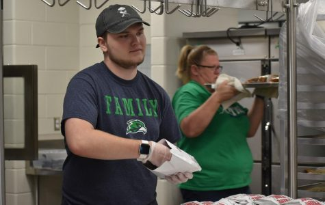 Marshall Makes History in GCHS Cafeteria