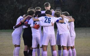 The boys soccer team's success could be contributed to the fact that many of them had played soccer together since elementary school.