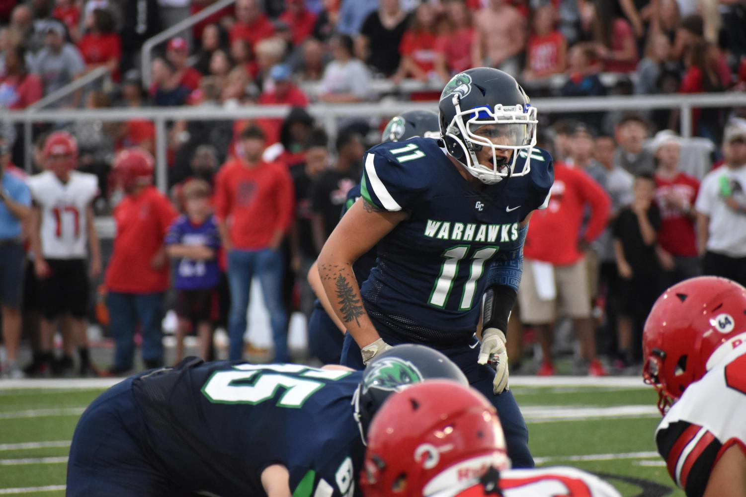 Starting a football program from scratch requires patience, determination and grit, as many players learned in their first season as Warhawks.