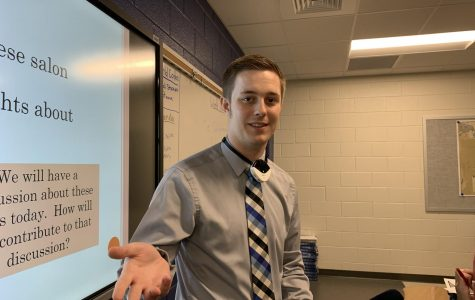 Andrew Stock is a member of the social studies department at Great Crossing High School.