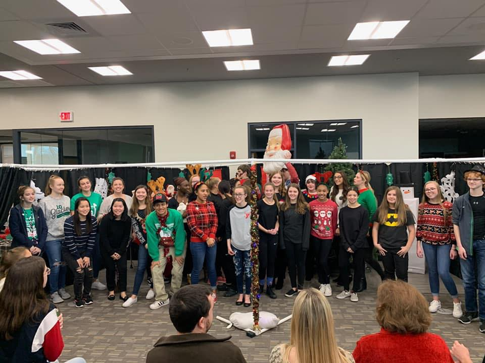 While the cast and crew had to be creative while performing in the library, the first theatrical show at GCHS was successful.