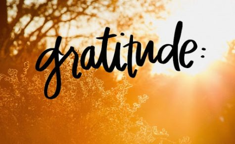 While 2020 has been difficult for many, students have been able to practice gratitude.