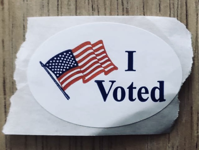 Many seniors at GCHS had the opportunity to vote in their first election in November.