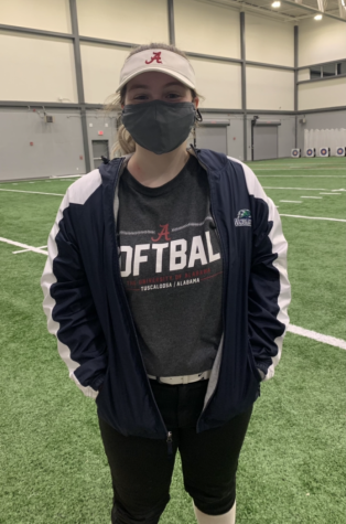 After having their first season as a Great Crossing team halted due to covid, the softball players are happy to return to play under new safety guidelines.  Bella Freeman believes a return to sports is important for mental health.